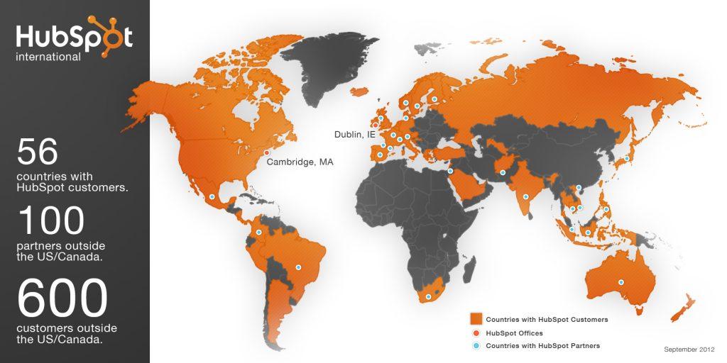 mapa de clientes de huspot
