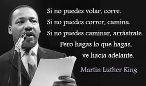 si no puedes volar martin luther king