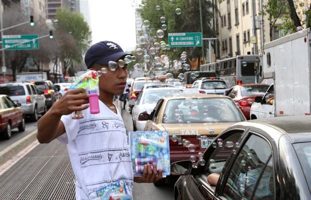 vendedor ambulante México