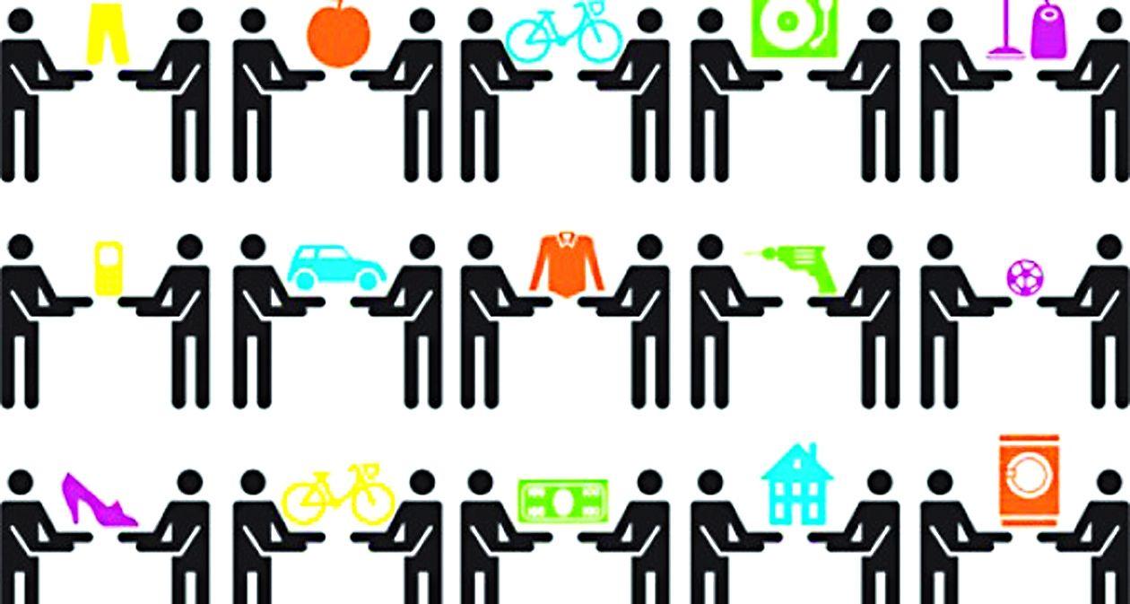 La economía de compartir básicamente permite rentar todo aquello que se puede compartir.